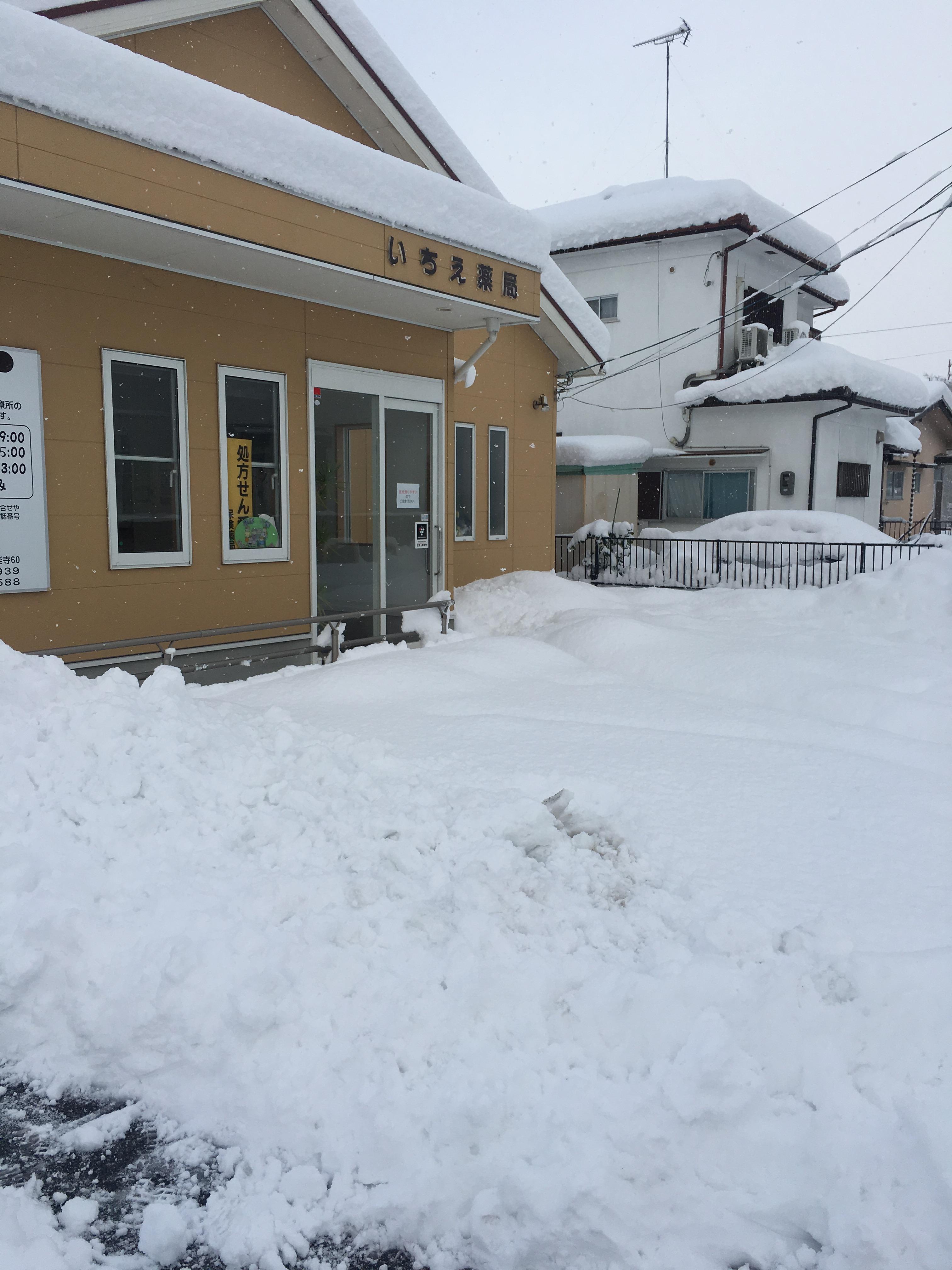 薬局における急な大雪が降った時に起こること~リスクマネジメント編~